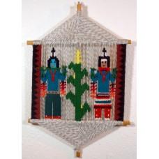 Navajo stick weaving