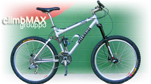 ClimbMax mountain bike parts specification