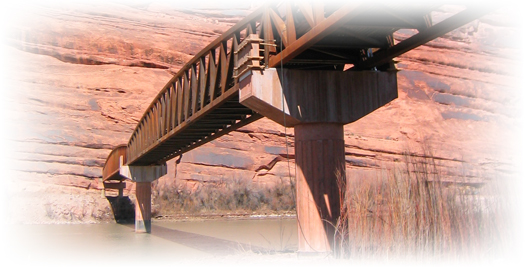 Moab's Colorado River Bike Bridge