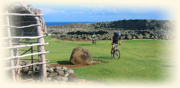 Hawaiian history and remote ocean coast mountain biking.