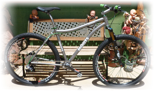 Moots Mooto-X YBB with SRAM XX1 and Industry Nine wheelset