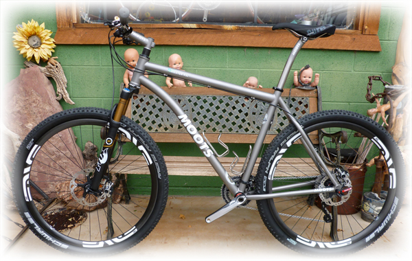 Moots Mooto-X with XTR and Enve rims