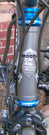 Moots Vamoots LSMR cable routing around headtube