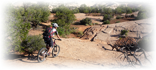 Moab mountain bike vacations for solos