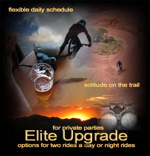 Elite guide and vacation service upgrade.