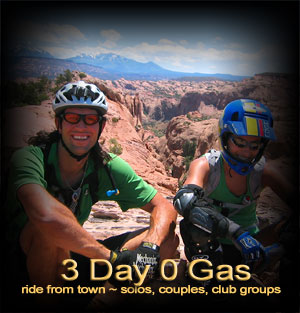 Moab 3 day mountain bike and/or road ride series
