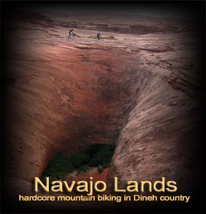 Navajo Reservation mountain biking