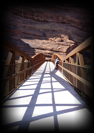 Moab Colorado River Pedestrian Bridge