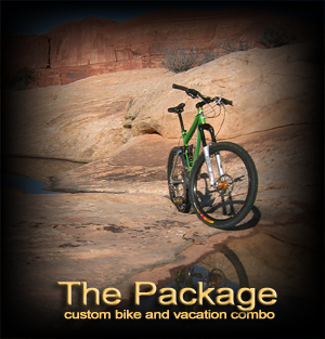 Custom Bike Purchase and Vacation Package