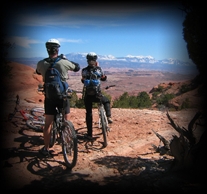 Guided Bicycling in Moab