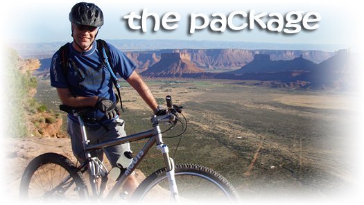 Mountain Bike Purchase and Tour Combination in Moab, Utah